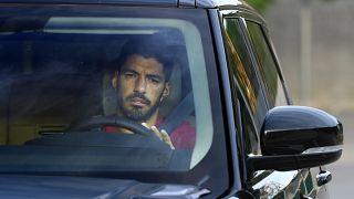 Il calciatore del Barcellona Luis Suarez