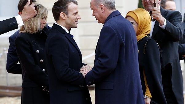 Cumhurbaşkanı Erdoğan'ın Kasım 2018'deki Fransa ziyareti (arşiv)