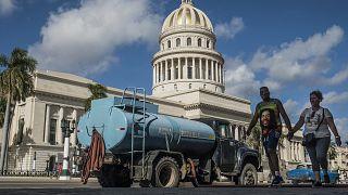 FOTO Rete idrica carente, siccità ed embargo: il problema dell'acqua potabile a Cuba