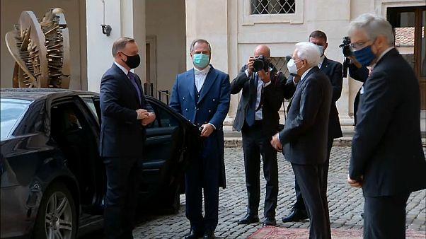 Il Presidente Duda al Quirinale