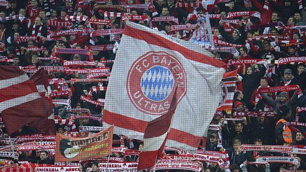 Bayern-szurkolók egy hazai mérkőzésen 2015-ben
