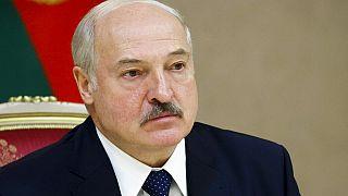El presidente Lukashenko en una reunión oficial este martes 22 de septiembre