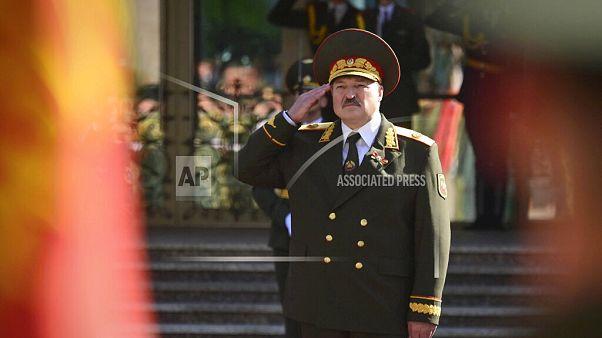 Alexander Lukashenko has been sworn in as president.