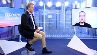 Der Grünen-Abgeordnete Sven Giegold im Gespräch mit Euronews