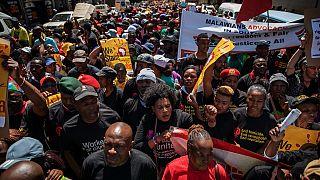 Manifestation xénophobe devant l'ambassade du Nigéria en Afrique du Sud
