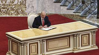 Церемония инаугурации Александра Лукашенко 23 сентября 2020