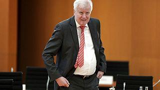 Der deutsche Innenminister Horst Seehofer bei der wöchentlichen Kabinettssitzung in Berlin, 16. September 2020