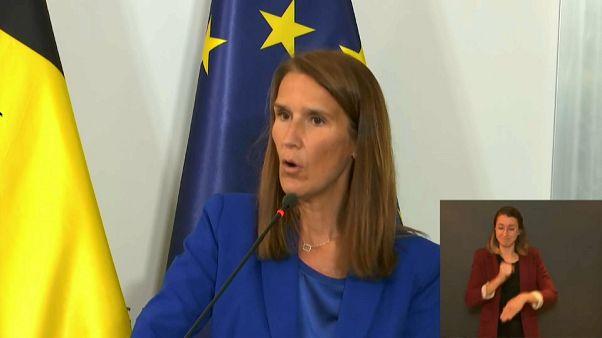 Belgiens Ministerpräsidentin Sophie Wilmes