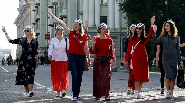 Минск: уличные столкновения после инаугурации | Euronews
