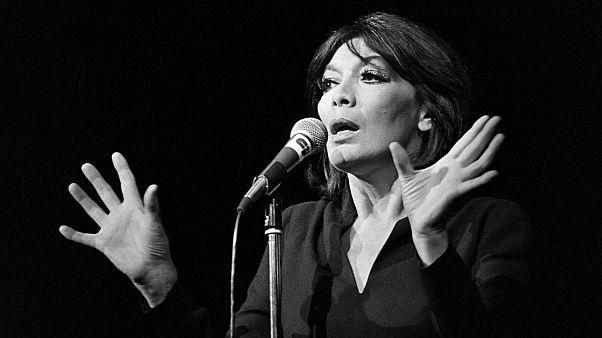 Juliette Gréco, le 7 octobre 1979 à Paris