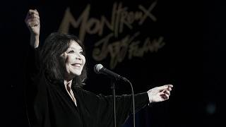 French singer Juliette Greco performs during the 46th Montreux Jazz Festival in Montreux, Switzerland in July 2012.