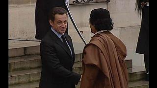 Visite de Mouammar Kadhafi à l'Elysée en 2007