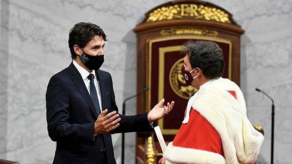 ترودو بصحبة وزير العدل الكندي