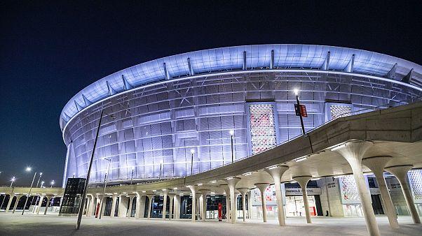 Az Európai Szuperkupa döntőjének helyszíne, a Puskás Aréna Budapesten