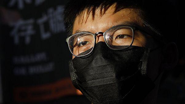 Aktivist Joshua Wong in Hongkong