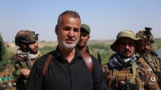 أبو سدرة التركماني رئيس العمليات في اللواء 30 بقوات الحشد
