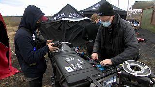 Un tournage sur le territoire islandais