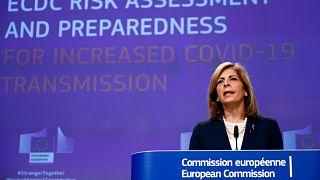 المفوضة الأوروبية لشؤون الصحة ستيلا كيرياكيدس