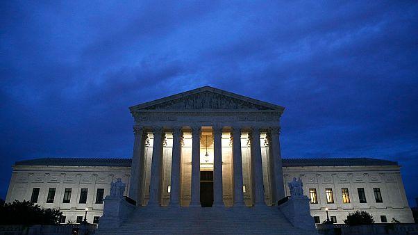 Az amerikai Legfelsőbb Bíróság Washingtonban