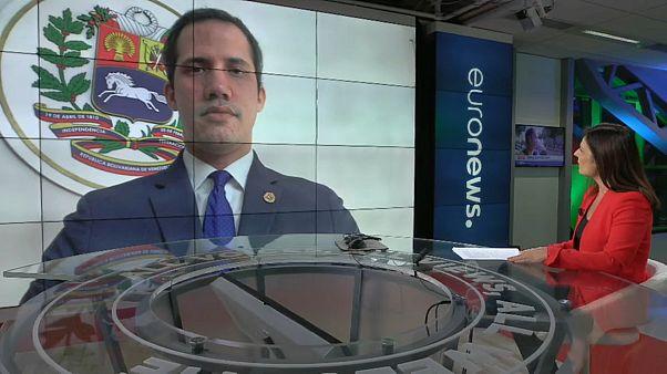 Entrevista a Juan Guaidó, presidente de la Asamblea Nacional de Venezuela