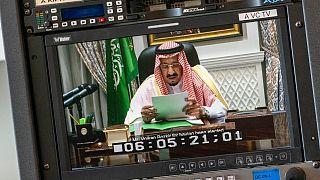 مشاركة الملك سلمان بن عبد العزيز عبر الفيديو في أعمال الجمعية العامة للأمم المتحدة في دورتها الـ75، 23 سبتمبر 2020