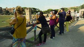 Turistas viajam ao passado do Circo Máximo em nova experiência de visita