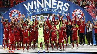 Bayern Münih, normal süresi 1-1 biten maçta Sevilla'yı uzatma sonunda 2-1 yenerek UEFA Süper Kupa'nın sahibi oldu