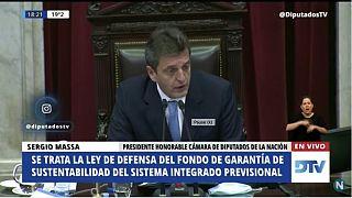 جلسة البرلمان الأرجنتيني