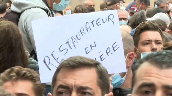 Les restaurateurs en colère à Marseille