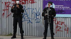 Нападение у бывшей редакции Charlie Hebdo в Париже
