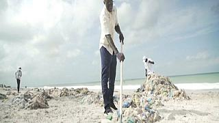 Senegalese Beach Cleanup Efforts