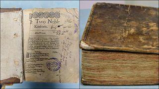 Shakespeare'in İspanya'da bulunan en eski eseri