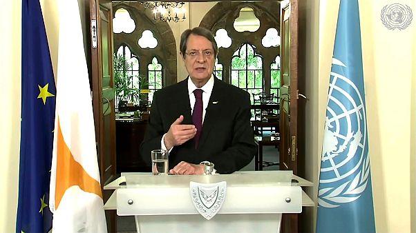 Güney Kıbrıs Rum Yönetimi Cumhurbaşkanı Nikos Anastasiadis