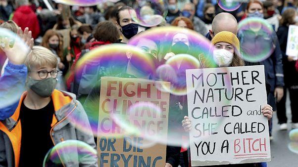 شاهد: في العاصمة الألمانية .. احتجاجات ضد التغير المناخي
