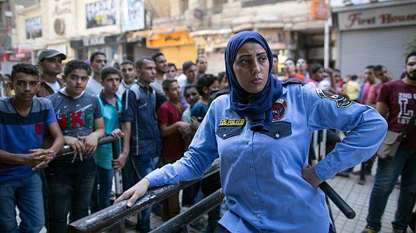 شرطية مصرية