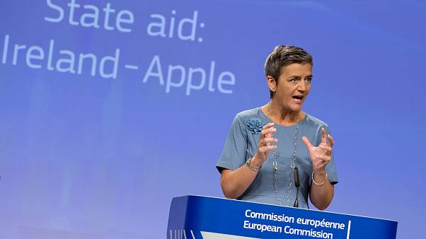European Union Competition Commissioner Margrethe Vestager on July 15, 2020 in Brussels.