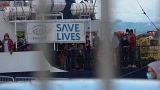 Alan Kurdi läuft in Sardinien ein