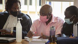 پل روسساباگینا در جلسه دادرسی در رواندا