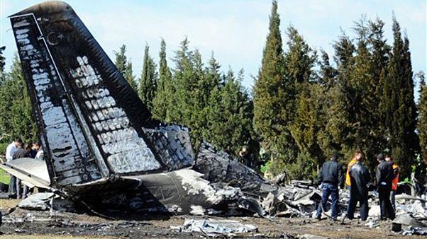 Cade un Antonov dell'aviazione militare ucraina