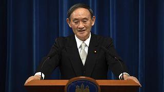 Japonya Başbakanı Yoşihide Suga