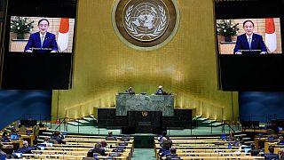سخنرانی مجازی نخست وزیر جدید ژاپن در مجمع عمومی سازمان ملل