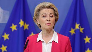 Avrupa Komisyonu Başkanı Ursula von der Leyen