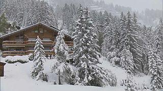 موسم الثلوج يحل في أنزير السويسرية - 2020/09/24