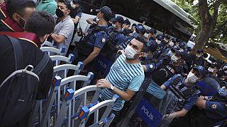 Proteste von Anwälten im Juli 2020