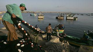 Gazzeli balıkçılar (arşiv)
