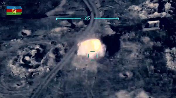 استهداف طائرة أذربيجانية لمنظومة دفاع أرميني