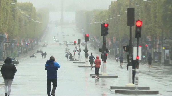 В Париже прошел День без машин