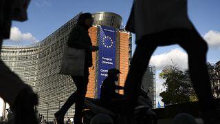 Άποψη από το κτίριο της Κομισιόν στις Βρυξέλλες - φώτο αρχείου