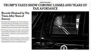La prima pagine del New York Times.