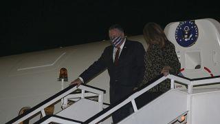 ABD Dışişleri Bakanı Mike Pompeo Selanik'te